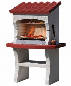 Outdoor Fireplace/BBQ