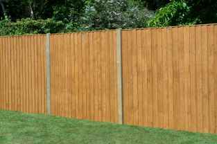 6ft x 6ft Featheredge Fence Panel - Pack of 3