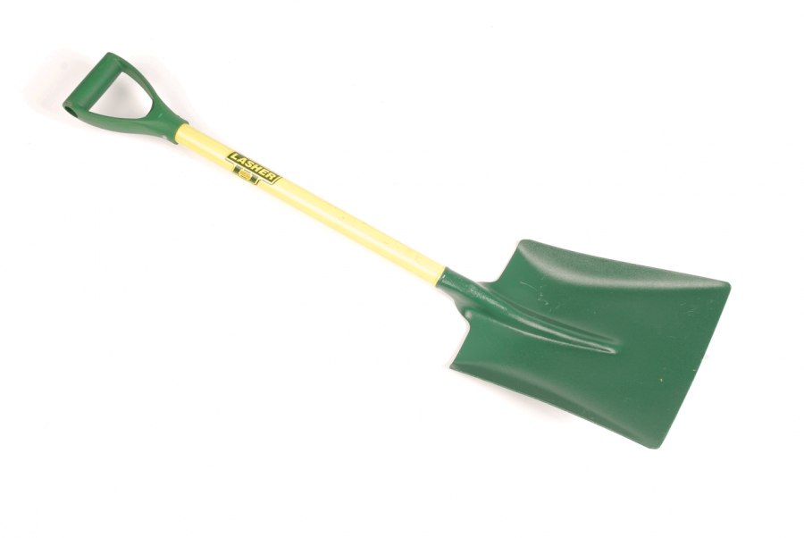 Square Mouth Garden Shovel by Lasher Tools