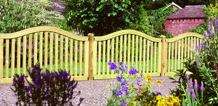 6ft x 3.2ft Fence Panel Pack of 3 - Pressure Treated Hampton