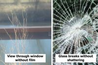 Anti-Shatter Safety Window Film Class B - 100microns