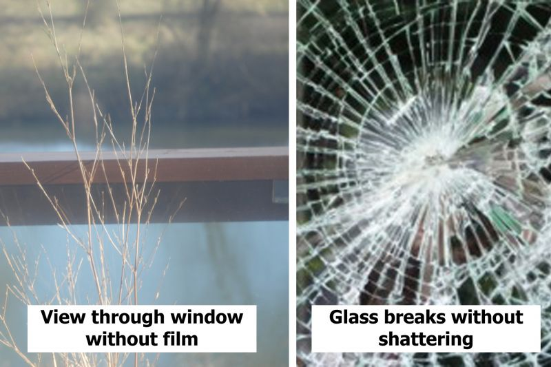Anti-Shatter Safety Window Film Class A - 175 microns