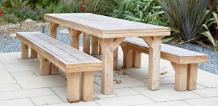 8 Seater Larch Cathedral Set