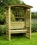 Northwood 1.58m (5ft 2ins) Timber Arbour with Trellis