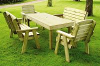 Coventry Timber Garden Furniture Set