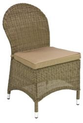 Alexander Rose Monte Carlo Rattan Garden Dining Chair with Cushion