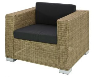 Alexander Rose Monte Carlo Rattan Garden Chair with Cushion