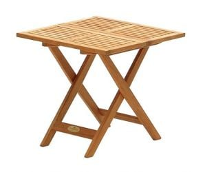 Teak Small 53cm Folding Garden Table