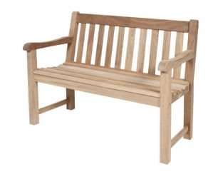 St George 4ft Mahogany Garden Bench