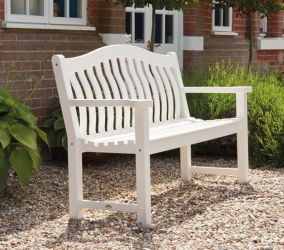 Alexander Rose New England Turnberry 1.46m (5ft) Wooden Bench