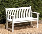 Personalised Alexander Rose New England Broadfield 1.27m (4ft) Commemorative Memorial Wooden Bench