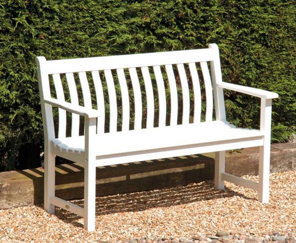 Alexander Rose New England Broadfield 1.27m (4ft) Wooden Bench