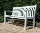 Personalised Alexander Rose New England Broadfield 1.51cm (5ft) Commemorative Memorial Bench