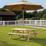 Alexander Rose Pine Woburn Garden Picnic Table 5ft