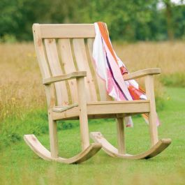 Alexander Rose Pine Farmers Garden Rocking Chair