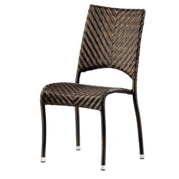 Alexander Rose Ocean Fiji Rattan Stacking Garden Dining Chair