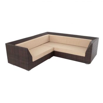 Ocean Maldives Corner Sofa with 2 Armchairs & Coffee Table