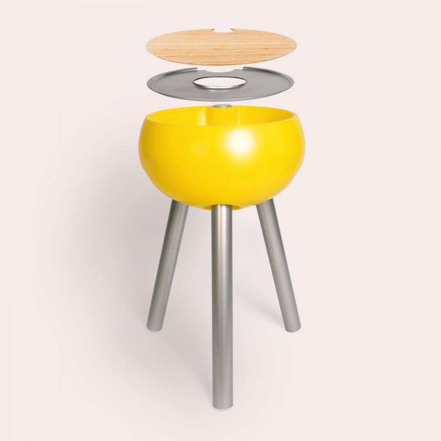 Homebird 82cm Outdoor Sink and Drink cooler - Egg Yolk