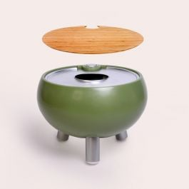 Freebird 40 cm Mini Outdoor Sink And Drink Cooler - Safari Green