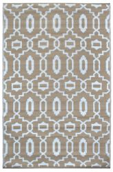 180cm x 270cm (6ft x 9ft) Reversible Outdoor Modern Rug - Grey Dawn and Brindle