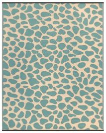 120cm x 180cm (4ft x 6ft) Reversible Outdoor Pebbles Rug - Green / Sand