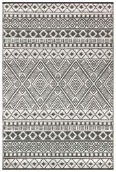 120cm x 180cm (4ft x 6ft) Reversible Outdoor Relic Rug - Grey / White
