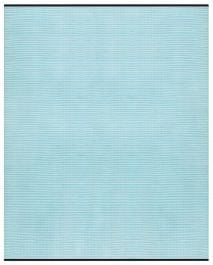 150cm x 240cm (5ft x 8ft) Reversible Outdoor Aqua Stripes Rug - Aqua Sky / White