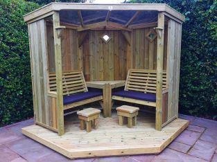 Four Seasons Wooden Garden Room - 2.1m (6ft 10in)