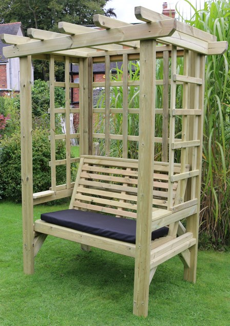 Beatrice Wooden Two Seater Arbour - 2.1m (6ft 10in)