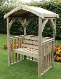 Anastasia Wooden Two Seater Arbour - 1.9m (6ft 2in)