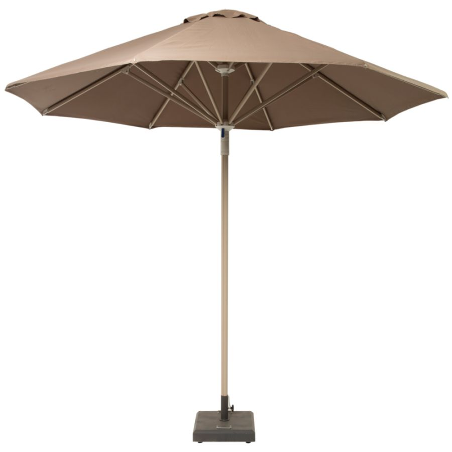 Norfolk Leisure 3.5m Telescopic Parasol in Taupe