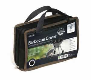 Gardman 90cm x 71cm Kettle Barbecue Cover - Black