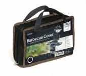 Gardman 122cm x 71cm Trolley Barbecue Cover - Black