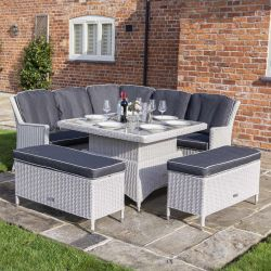 9 Seater Prestbury Corner Dining Set by Rowlinson®