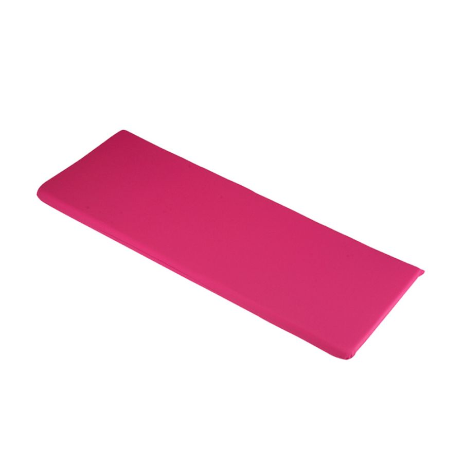 1.16m 2 Seater Bench Cushion in Hot Pink
