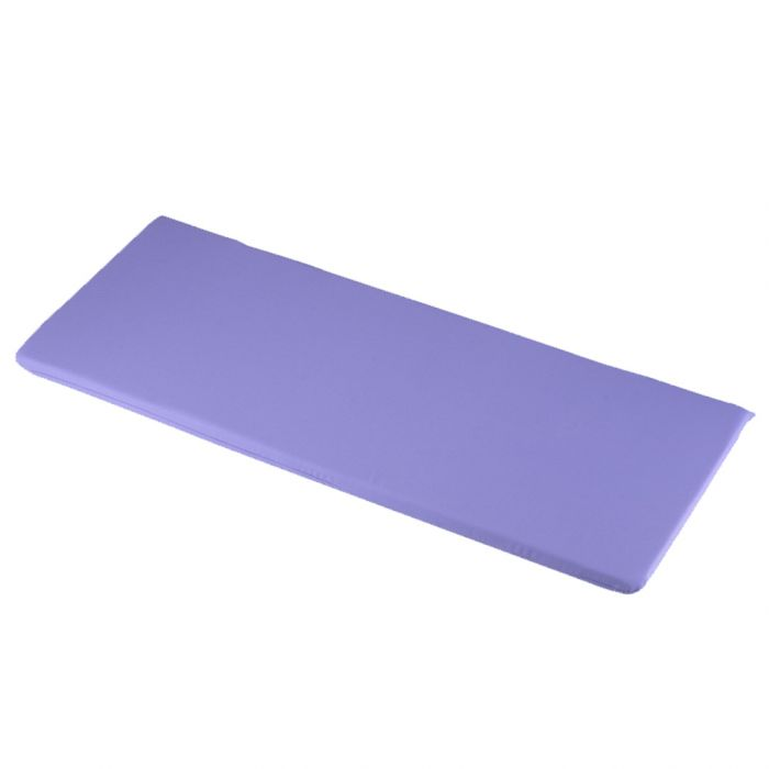 1.16m 2 Seater Bench Cushion in Lilac
