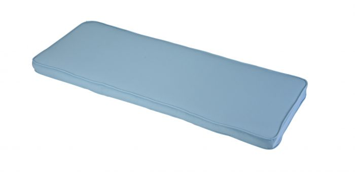 1.41m 3 Seater Garden Bench Cushion in  Placid Blue