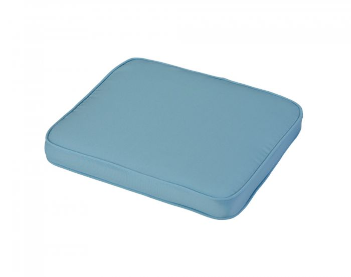 45cm Standard Carver Seat Cushion in Placid Blue