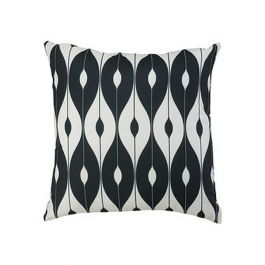 30cm Scatter Cushion in Black Pattern