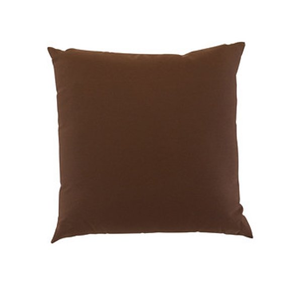 30cm Scatter Cushion in Chocolate