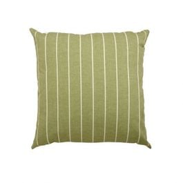 30cm Scatter Cushion in Green Stripe