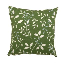45cm Scatter Cushion in Country Green