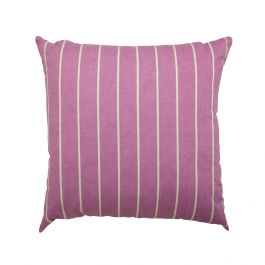45cm Scatter Cushion in Purple Stripe