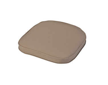 40cm Standard D Seat Pad Chair Cushion in Stone