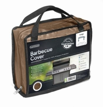 Gardman 170cm x 60cm Large Barbecue Cover - Brown