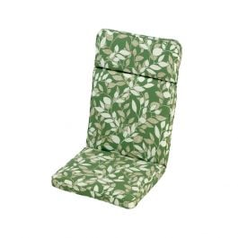 1.16m High Back Recliner Cushion in Cotswold Leaf