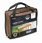 Gardman 196cm x 114cm 8 Seater Rectangular Table Furniture Cover - Brown