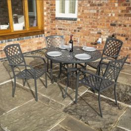 4 Seater Vienna Dining Set by Rowlinson®