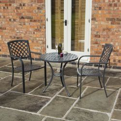 2 Seater Vienna Bistro Set by Rowlinson®