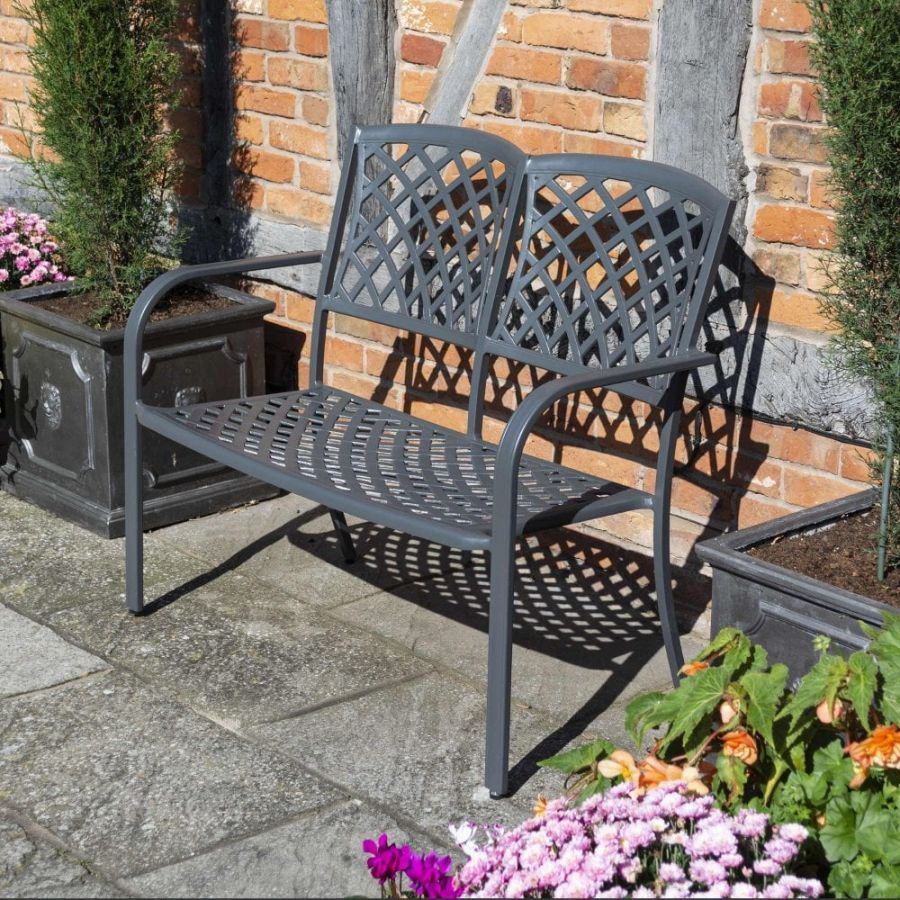 1.04m Vienna 2 Seater Bench by Rowlinson®